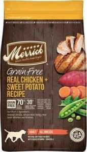 Merrick Grain-Free Real Chicken + Sweet Potato Recipe Dry Dog Food