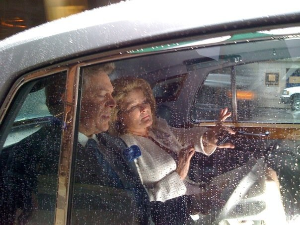 Christopher McDonald and Kate Mulgrew