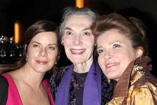 Marcia Gay Harden, Marian Seldes and Kate Mulgrew