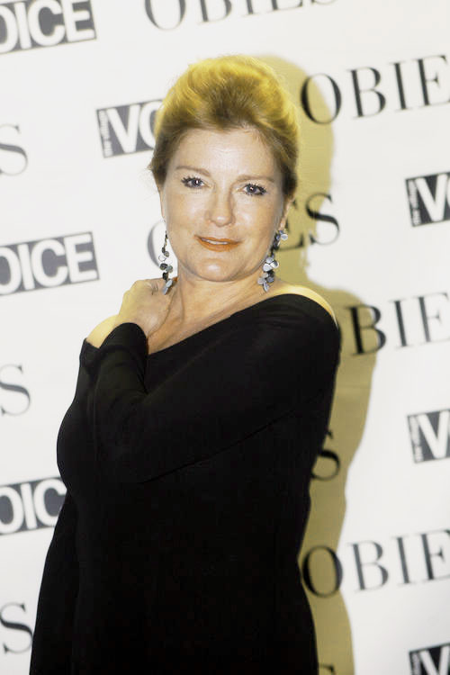 Kate Mulgrew at 2009 Obie Awards