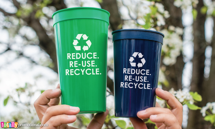 Reusable Recycling Cups