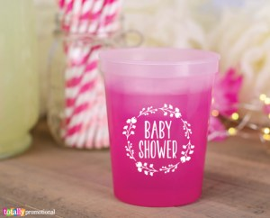 Baby Shower Gender Reveal Mood Cups