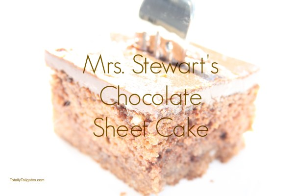 MRS STEWARTS CHOCOLATE SHEET CAKE
