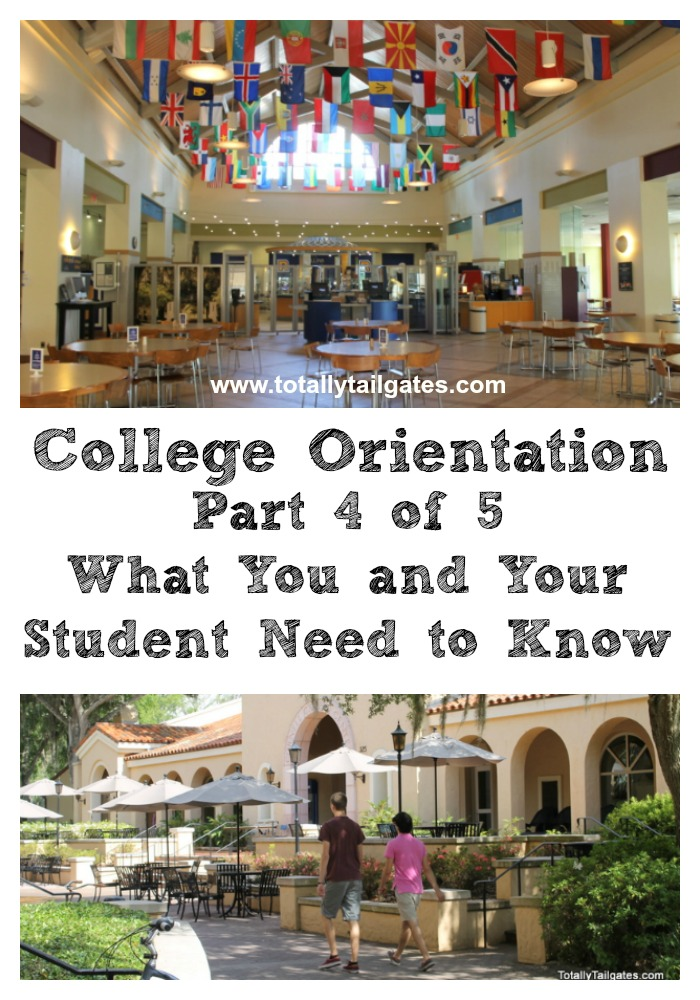 All About College Orientations Part 4 of 5 covers all you need to know about meal plans & dining services.