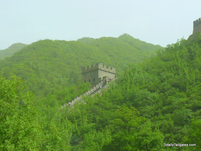 The Great Wall of China during the Summer Olympics 2008.