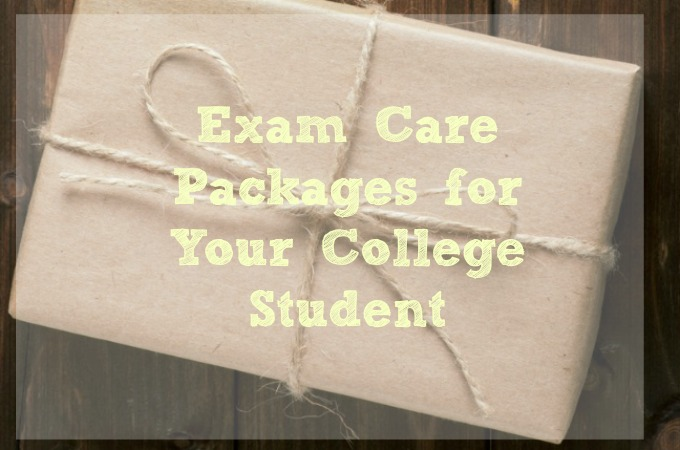 College Exam Care Packages