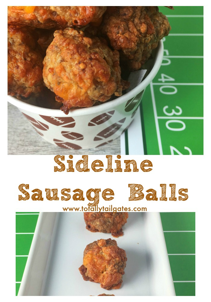 Sideline Sausage Balls are a tailgate party favorite!
