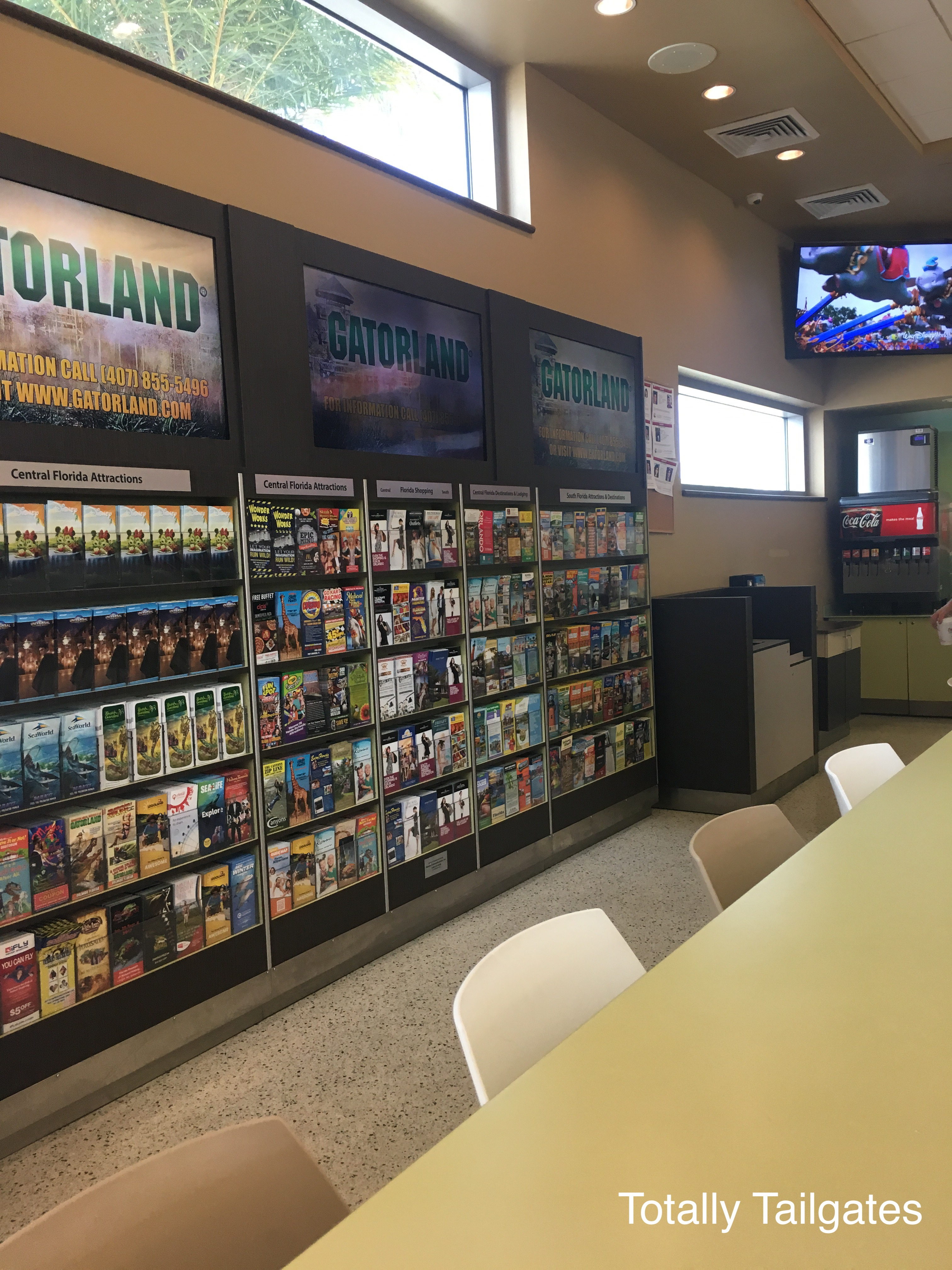 A Florida Turnpike Rest Stop.