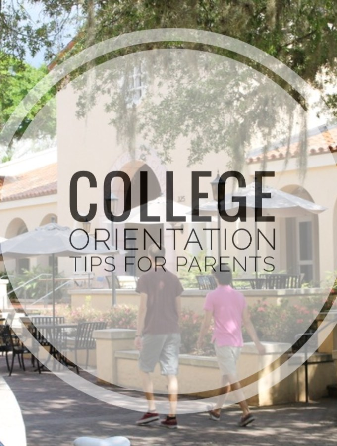 College Orientation Tips for Parents
