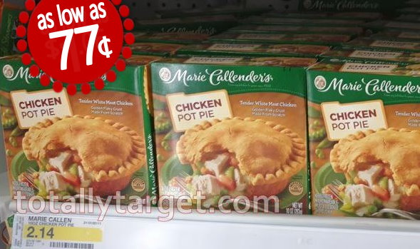 marie callenders frozen meals as low as 77¢ each totallytarget com