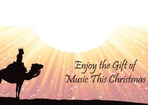 Religious Christmas Card Inside