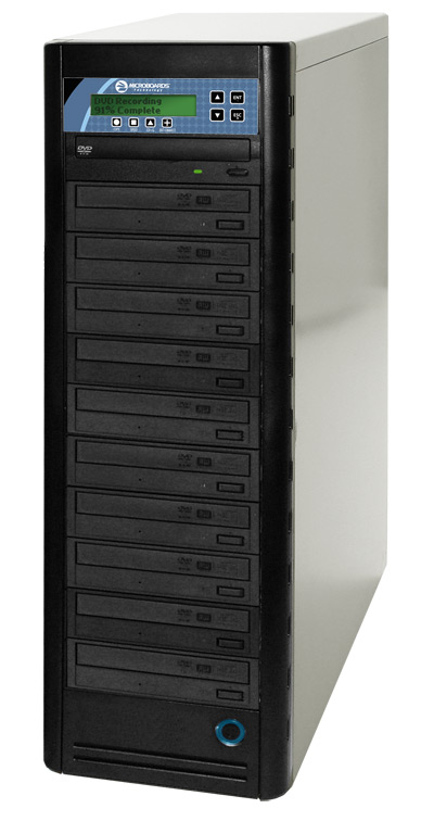 Microboards CopyWriter Pro Tower - Total Media Inc - 10 bay