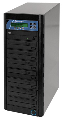 CopyWriter Series Pro CD/DVD Tower 1-to-7 Duplicator
