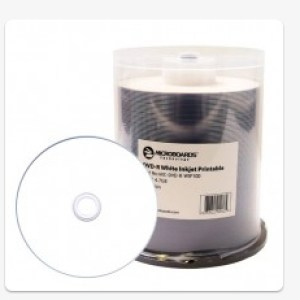 Microboards DVD-R, White InkJet
