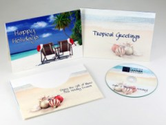 Tropical Holiday CD Card by Total Media