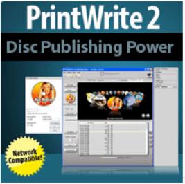 PrintWrite 2 Network Disc Publishing Software