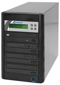 QD Economy Series CD/DVD Tower 1-to-3 Duplicator
