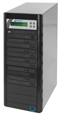 QD Economy Series CD/DVD Tower 1-to-5 Duplicator w/ HDD