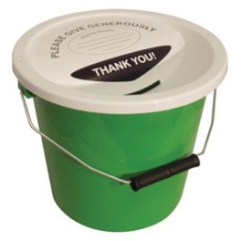 Image result for Charity Collection Buckets