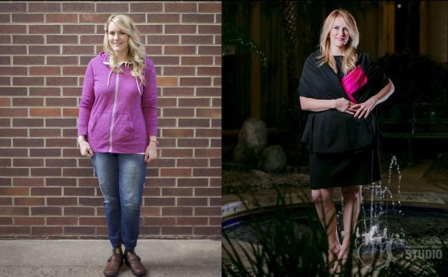 Total Mom Makeover Jennifer Fudge Before and After Look