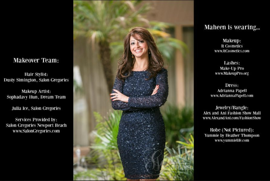 Total Mom Makeover Credits for Maheen Burgos Makeover