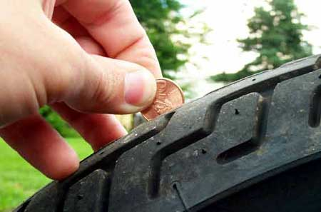 Always Remove A Tire From Service Once The Wear Reaches Tread Indicator Bars Indicating 1 32 Of An Inch