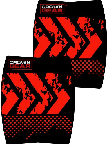 Crown Gear – Torque Ergonomic Grip Pads Workout Weight Lifting Training Hand Protective Grip Pad