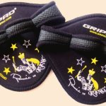 3 Pairs Ronnie Coleman Gym Workout Grip Gloves By Gripad