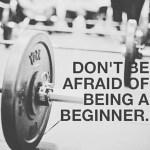You and everyone else started as a beginner. #everyonestartsabeginner