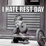 But it is necessary. *sigh* #fitness #strong