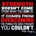 Challenge yourself! Compete with the you from yesterday and I promise you will become stronger. #qoute #fitness #gym #strength #strengthtraining #change #betterlife #overcomingfear #nofear #challenge