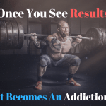 Seeing is Believing. Once you get the results that you want that is when you know it can be done. Knowing that it can be done and that it is a sustainable lifestyle will be the moment of addiction. #strength #motivation #quote