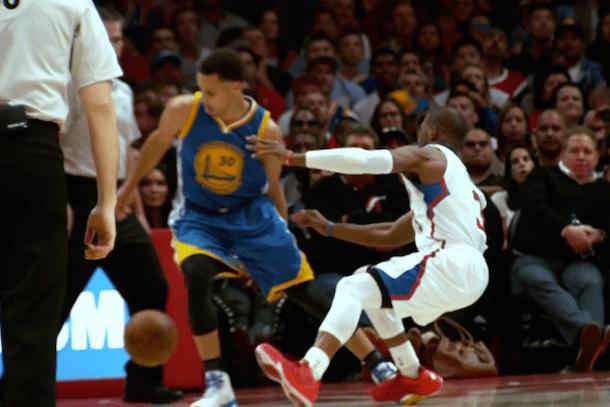 Paul Curry Breaks Ankles Chris