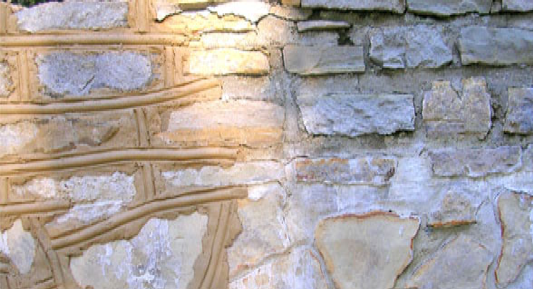 Stone Wall - Historical Stone Strengthening and Restoration - Total Restoration Services
