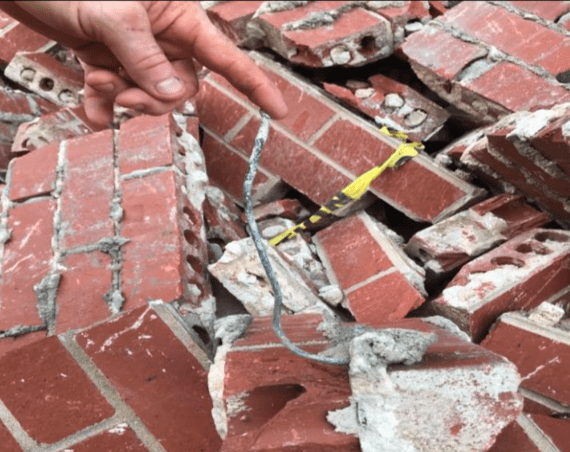 Masonry Wall Failures and Bulges - Total Restoration Services