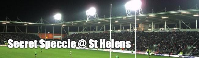 Secret Speccie - St Helens