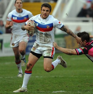 Cockayne in action for Wakefield. ©RLphotos.com