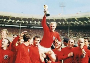 Where Craig Huby would go in a time machine - the summer of 1966 when England's football team lifted the World Cup at Wembley.