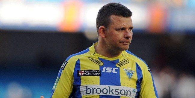 Lee Briers was forced to retire from Rugby League with an unfortunate neck injury. ©RLphotos