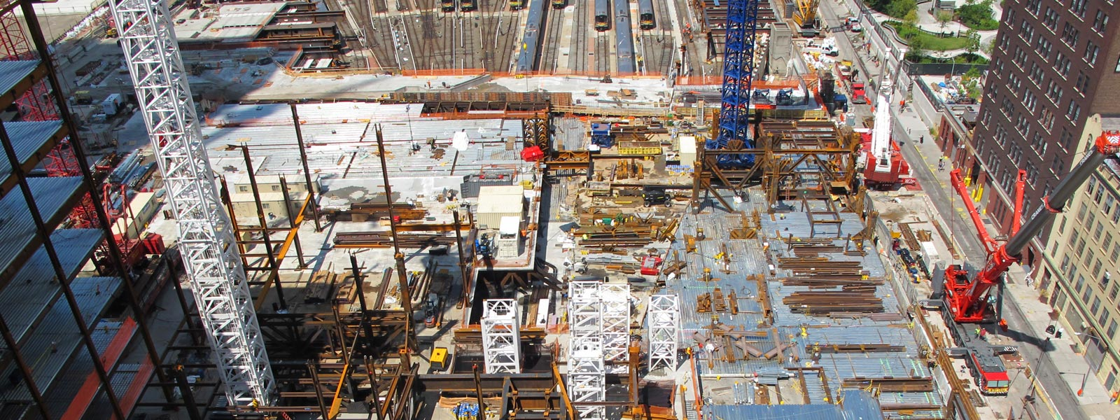 Staffing and services construction industry Hudson Yards project