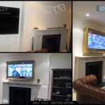 wall mounted tv