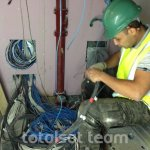 communal tv wiring