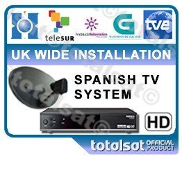 Spanish Freeview TV Package