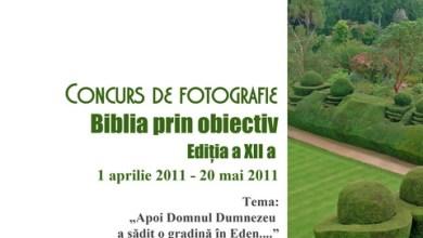 """Photo of Concurs de fotografie """"Biblia prin obiectiv"""" – Ediţia a XII-a"""