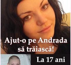 Photo of Ajutaţi-o pe Andrada să trăiască! La doar 17 ani suferă de leucemie