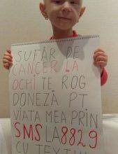 """Photo of Sufar de cancer la ochi. Trimite ,,ROXANA"""" la 8829!"""