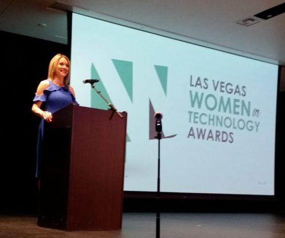 las vegas women in tech awards hosted by JJ Snyder of KTNV Morning Blend