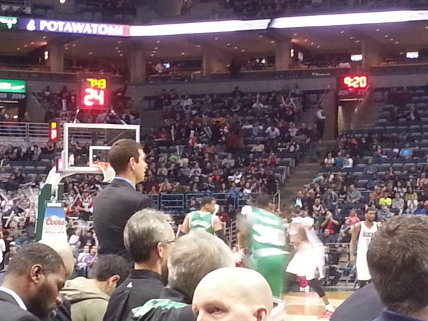 Celtics at Bucks
