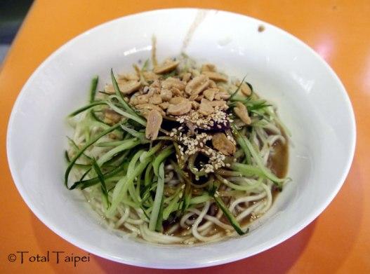 川醬拌麵 - Sichuan noodles with peanuts