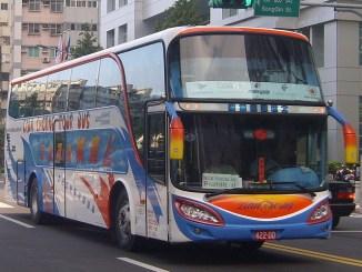 taiwan tour bus